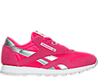 Girls' Preschool Reebok Classic Nylon Casual Shoes