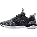 Left view of Men's Reebok Furylite II MA Casual Shoes in Black/White