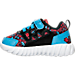 Left view of Boys' Toddler Reebok TwistForm Blaze 2.0 Running Shoes in Spiderman - Red