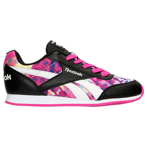 Girls' Grade School Reebok Royal Classic Leather Jogger Casual Shoes