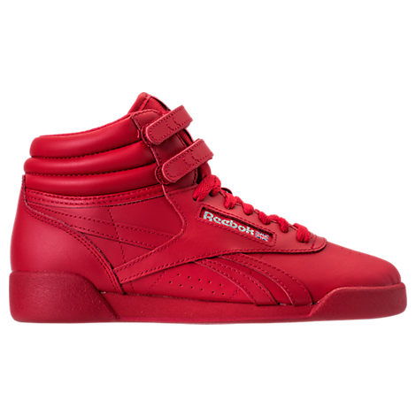 Girls' Grade School Reebok Freestyle Hi Casual Shoes