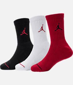 Kids' Jordan Crew Socks - 3 Pack Product Image