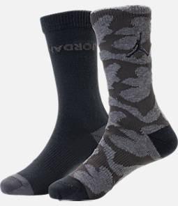 Kids' Jordan Camo Crew Socks - 2 Pack Product Image