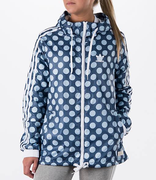 Women's adidas Originals Dot Windbreaker Jacket