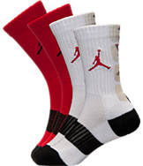 Kids' Jordan Retro 2-Pack Crew Socks