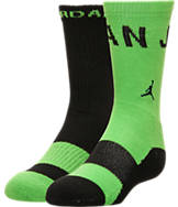 Kids' Jordan Two-Tone 2-Pack Crew Socks