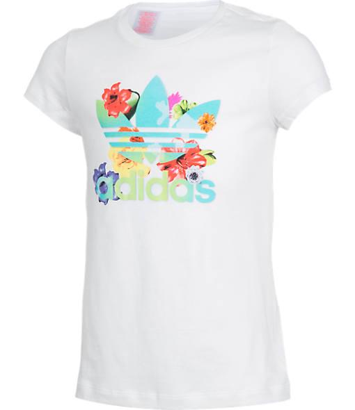 Girls' adidas Originals Trefoil Flower T-Shirt