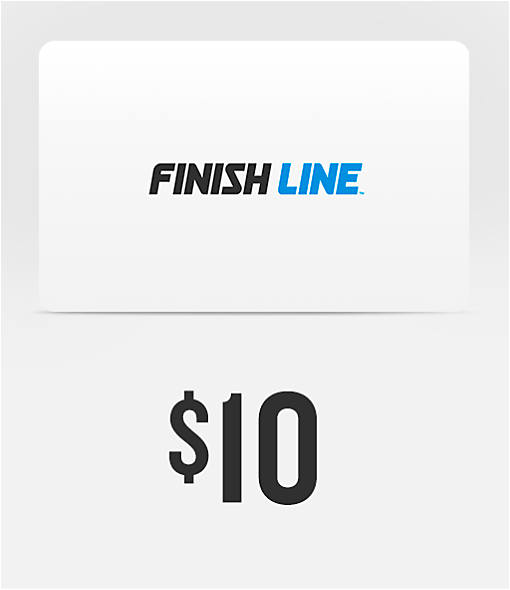 Finish Line $10 Gift Card