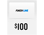 Finish Line $100 Gift Card