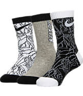 Boys' Nike Topo Buzz 3-Pack Crew Socks