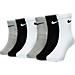 Front view of Kids' Nike Crew Socks 6-Pack in HTR