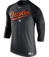 Men's Nike Baltimore Orioles MLB AC Legend Raglan Baseball T-Shirt