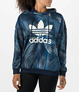 Women's adidas Blue Geology Oversized Hoodie