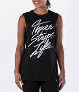 Women's adidas Three Stripe Muscle Tank