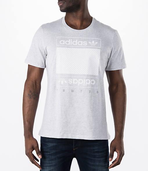 Men's adidas Originals Mesh Box Logo T-Shirt