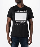 Men's adidas Originals Mesh Box Logo T-Shirt
