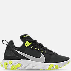 나이키 우먼 리액트 엘리먼트 55 캐쥬얼 운동화 BQ2728 001 - Womens Nike React Element 55 Casual Shoes,Black/Volt/Cool Grey/White