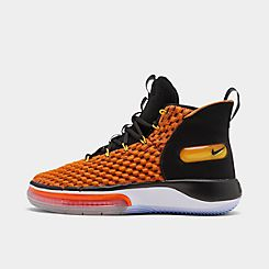 나이키 맨 Mens Nike AlphaDunk Basketball Shoes,Total Orange/Black/White