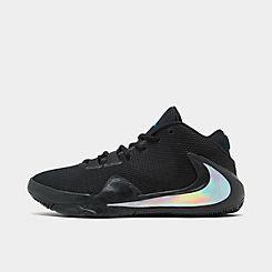 나이키 맨 Mens Nike Zoom Freak 1 Basketball Shoes,Black/Multi-Color/Photo Blue