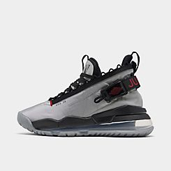 나이키 Nike Mens Jordan Proto-Max 720 Casual Shoes,Metallic Silver/Gym Red/Black