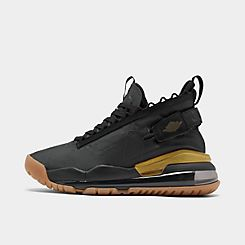 나이키 Nike Mens Jordan Proto-Max 720 Casual Shoes,Black/Black/Metallic Gold/Anthracite