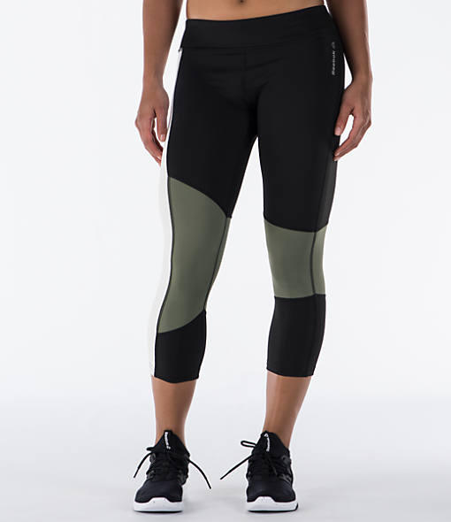 Women's Reebok Colorblock Training Crop Leggings
