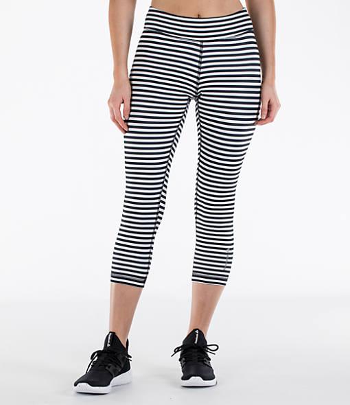 Women's Reebok Studio Yoga Stripe Capris