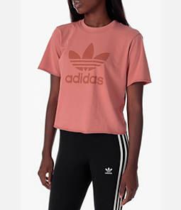 Women's adidas Originals Trefoil T-Shirt Product Image