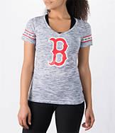 Women's New Era Boston Red Sox MLB Space Dye T-Shirt