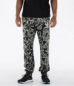 Men's adidas Camo Cuffed Pants Product Image