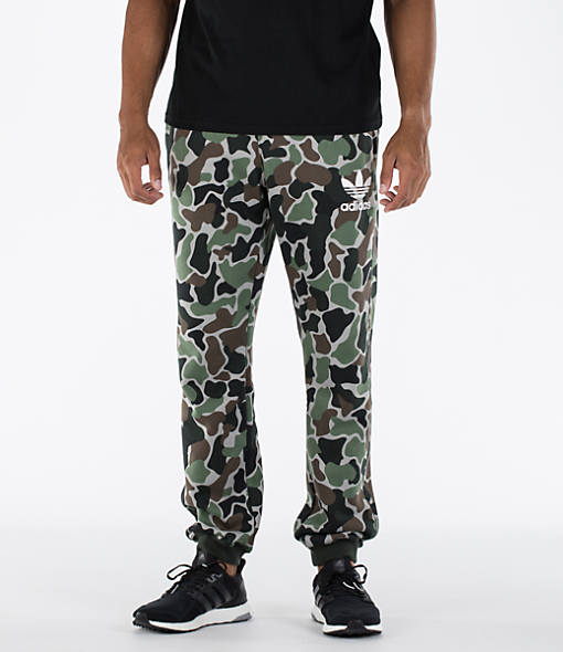 Men's adidas Camo Cuffed Pants