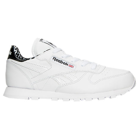 Girls' Preschool Reebok Classic Leather Casual Shoes