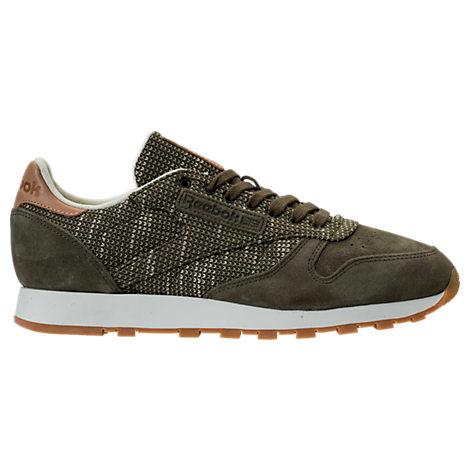 Men's Reebok Classic Leather EBK Casual Shoes
