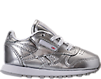 Girls' Toddler Reebok Classic Leather Casual Shoes