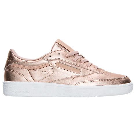 Women's Reebok Club C Metallic Casual Shoes