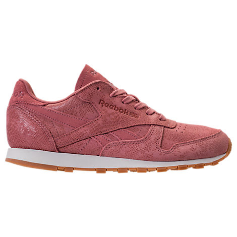 Women's Reebok Classic Leather Exotic Casual Shoes