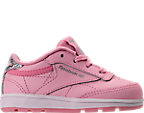 Girls' Toddler Reebok Club C Casual Shoes