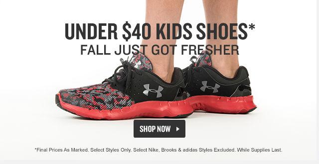 Kids Shoes Under $40.