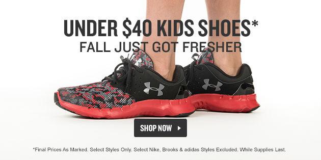 Kids Shoes Under $40