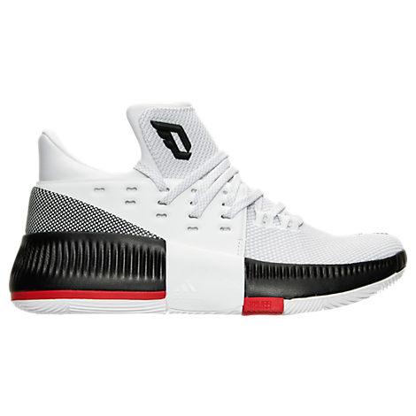 Boys' Grade School adidas Dame 3 Basketball Shoes