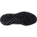 Bottom view of Boys' Grade School adidas AlphaBounce Running Shoes in Black/Black Print