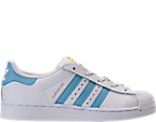 Kids' Preschool adidas Superstar Hook-and-Loop Closure Casual Shoes