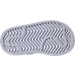 Bottom view of Kids' Toddler adidas Superstar Casual Shoes in White/Carolina Blue