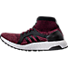 Left view of Women's adidas UltraBOOST X ATR Running Shoes in Mystery Ruby/Core Black/Trace Pink