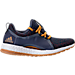 Right view of Women's adidas PureBOOST XPose ATR Running Shoes in Lefen Ink/Red Night/Tactile Yellow
