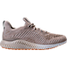 Right view of Men's adidas AlphaBounce Running Shoes in Clear Brown/Running White