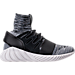 Right view of Men's adidas Tubular Doom Primeknit Casual Shoes in Core Black/Grey/Utility Black
