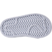 Bottom view of Boys' Toddler adidas Pro Model Casual Shoes in White/Silver