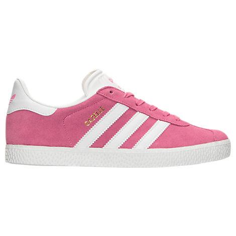 Girls' Grade School adidas Gazelle Casual Shoes