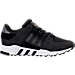 Right view of Men's adidas EQT Support RF Casual Shoes in Core Black/Carbon/Footwear White
